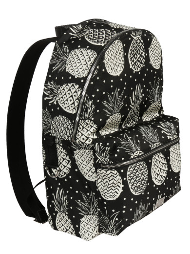 DOLCE & GABBANA Dolce & Gabbana Pineapple Print Backpack