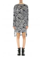 Acne Studios Paisley Patterned Tunic Dress
