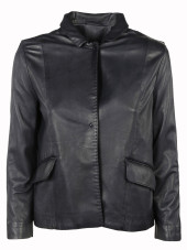 S.W.O.R.D 6.6.44 One-Buttoned Leather Jacket