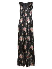 Alice + Olivia Floral Long Dress