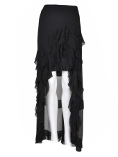 Alice + Olivia Ruffled Asymmetric Skirt