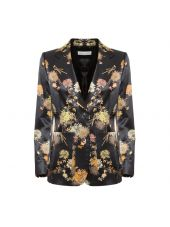 Dries Van Noten Flower Print Blazer