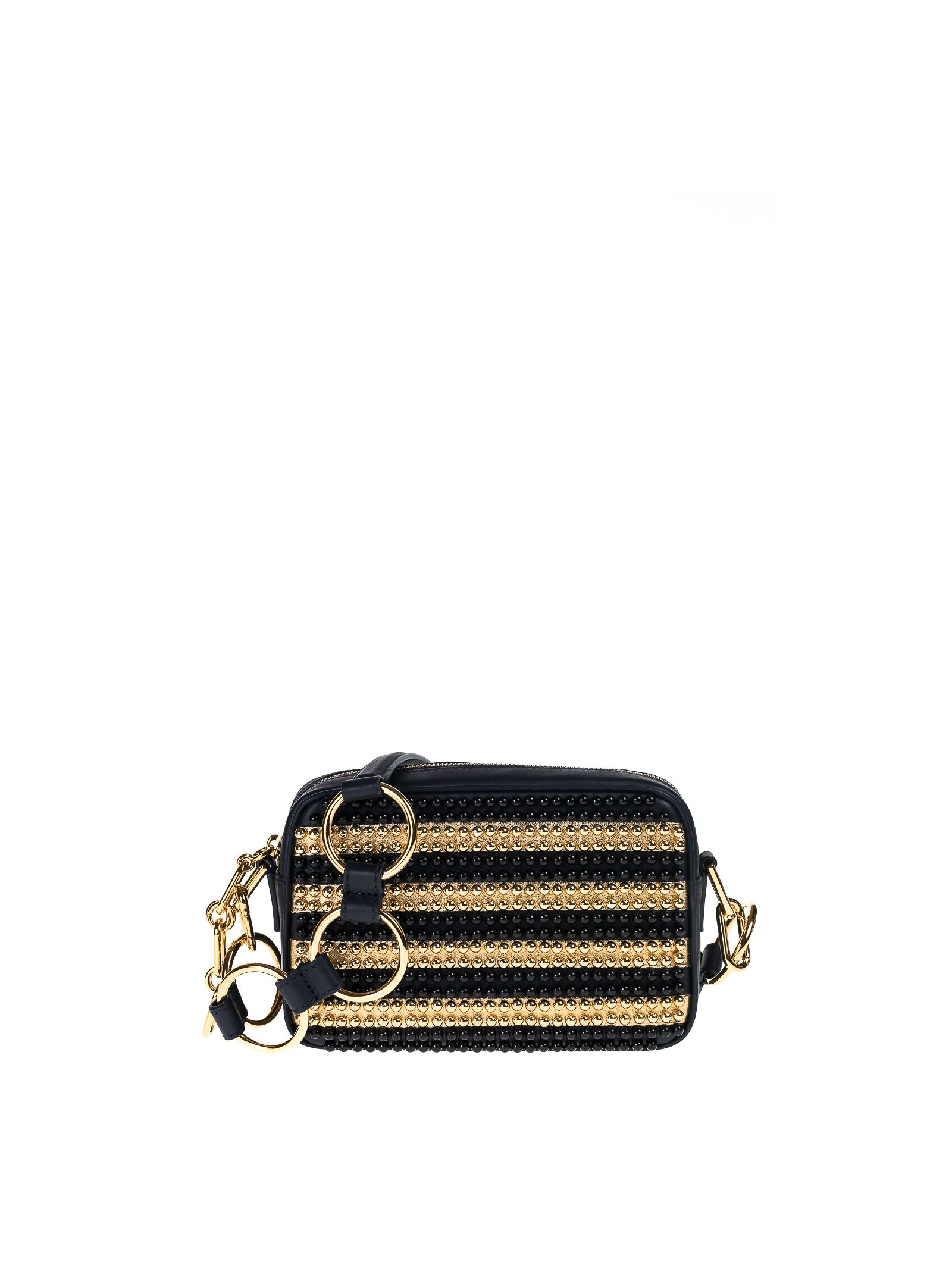 michael kors female michael kors julie small studded leather camera bag
