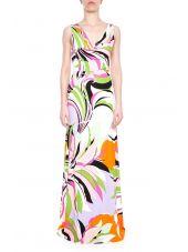 Maya Flower Print Dress
