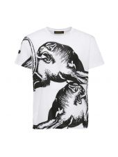 Valentino Panther Printed T-shirt