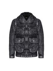 Stone Island Shadow Metallic Effect Hooded Jacket
