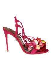 Aquazzura Pom-pom Sandals