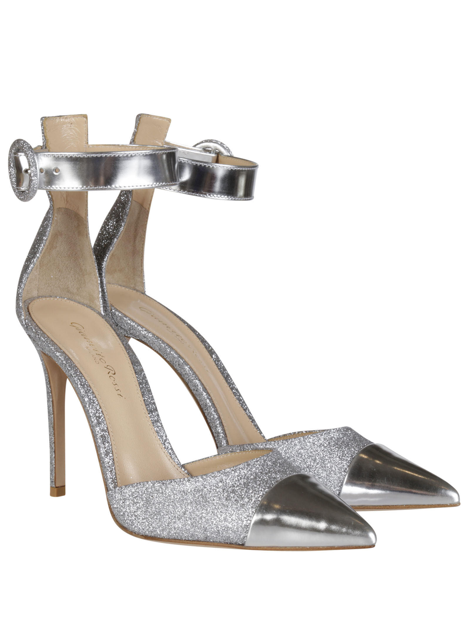 Gianvito Rossi Lillie Glitters Sandals - Gianvito Rossi - Bag & Shoes