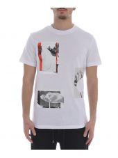 Mcq Alexander Mcqueen Collage Print T-shirt