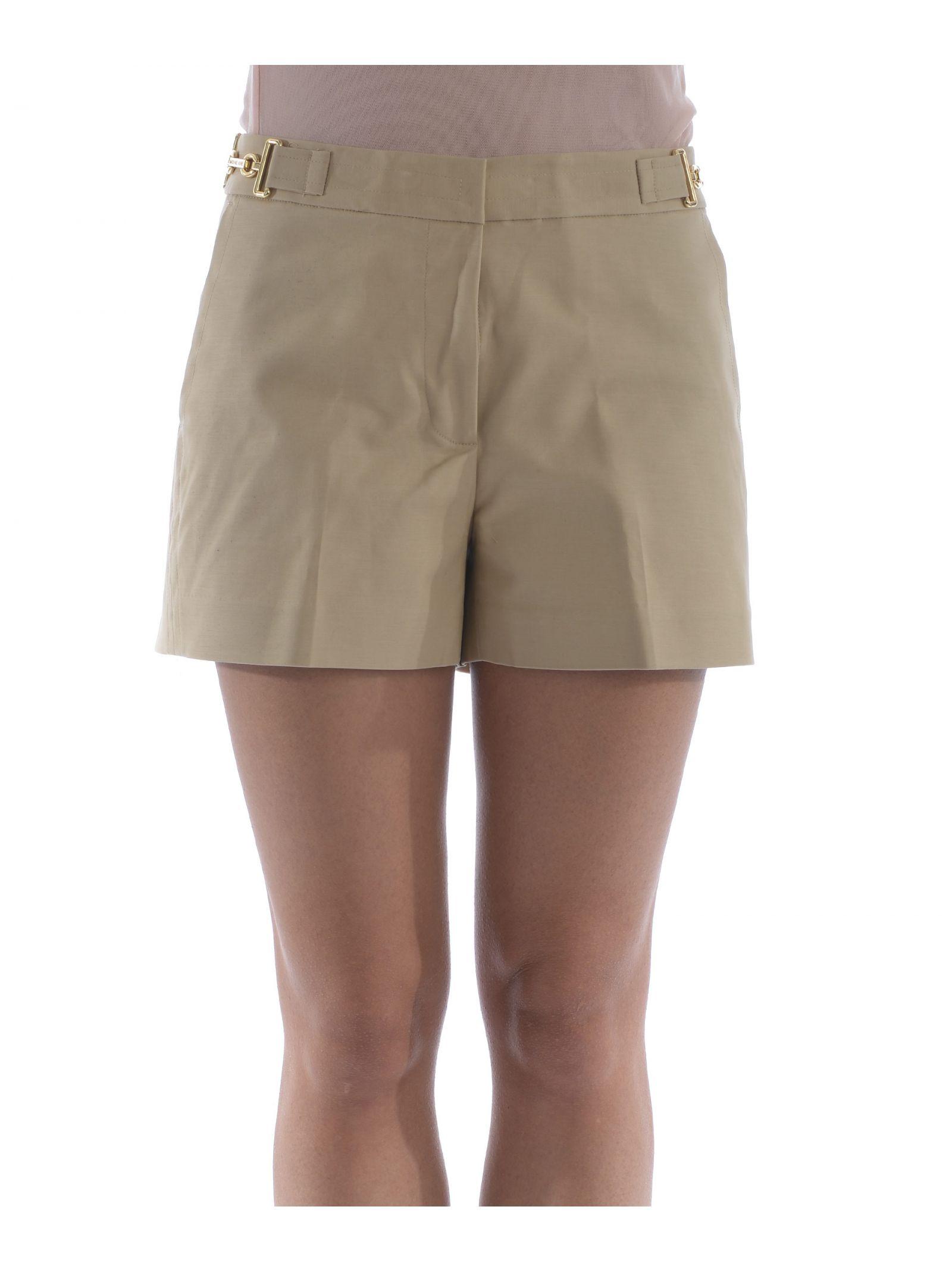 michael kors female michael kors high waisted shorts
