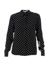 Black Polka Dots Shirt