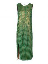 Marco De Vincenzo Embroidered Sequin Dress