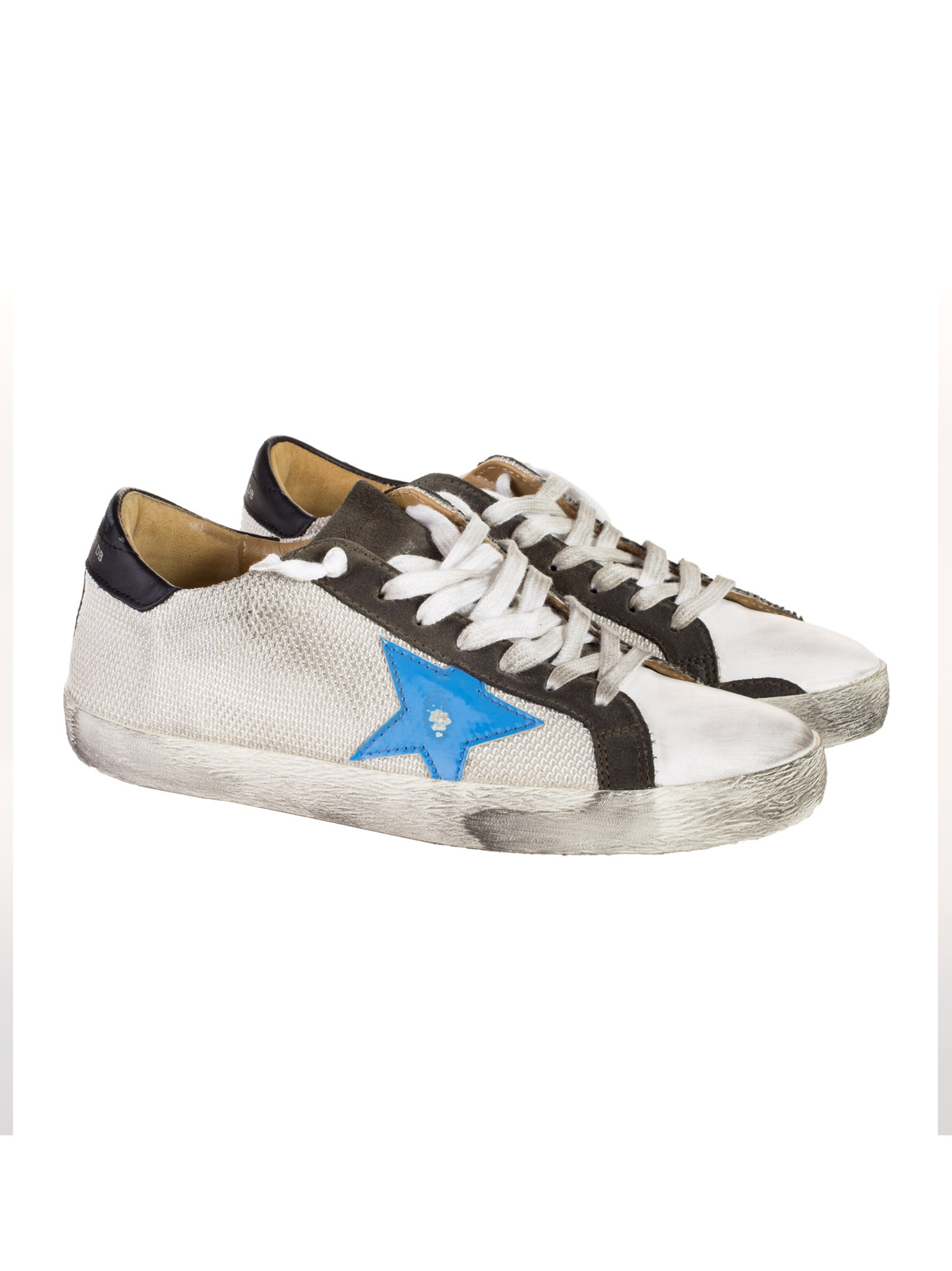 Golden Goose - Golden Goose Super Star Sneakers - G28MS590.A42, Men's Sneakers | Italist