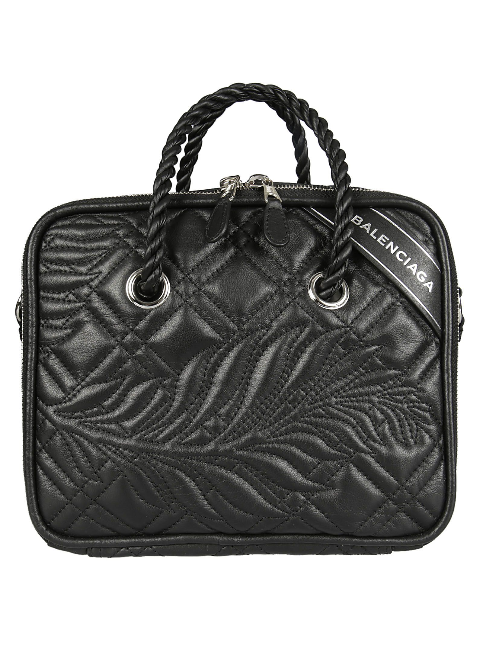 Balenciaga - Balenciaga Blanket Square Shoulder Bag - 466541 D5K1N ...
