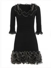 Alexander Mcqueen Frilly Mini Dress