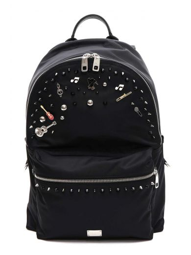 DOLCE & GABBANA Dolce & Gabbana Backpack With Embellishments at Italist.com
