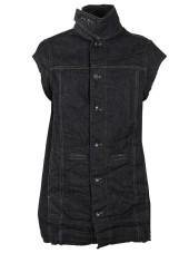 Drkshdw Distressed Sleeveless Jacket