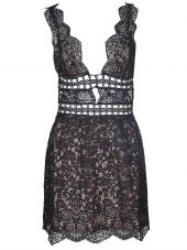For Love And Lemons Floral Lace Dress
