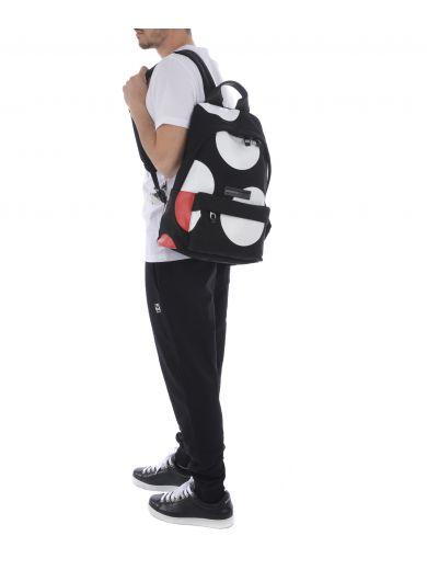 MCQ BY ALEXANDER MCQUEEN Mcq Alexander Mcqueen Polka Dots Backpack in Nero