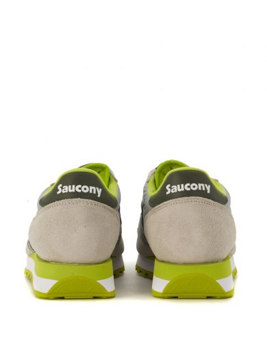 SAUCONY Sneaker Saucony Jazz In Suede E Tessuto Grigio Chiaro