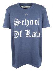 Off White Printed T-shirt