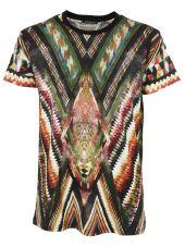 Balmain Geometric Pattern T-shirt