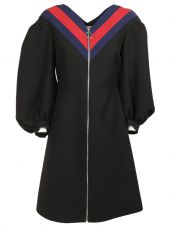 Gucci: Black Wool Dress