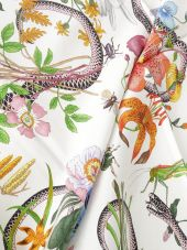 Gucci: Multicolor Silk Foulard