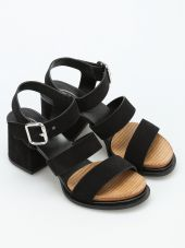 19a Multi Strap Suede Sandals