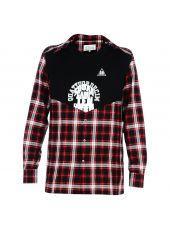 Red Multi Check Shirt