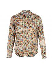 Multicolor Flower Print Shirt
