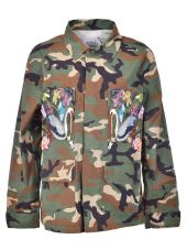Forte Couture Embroidered Military Jacket