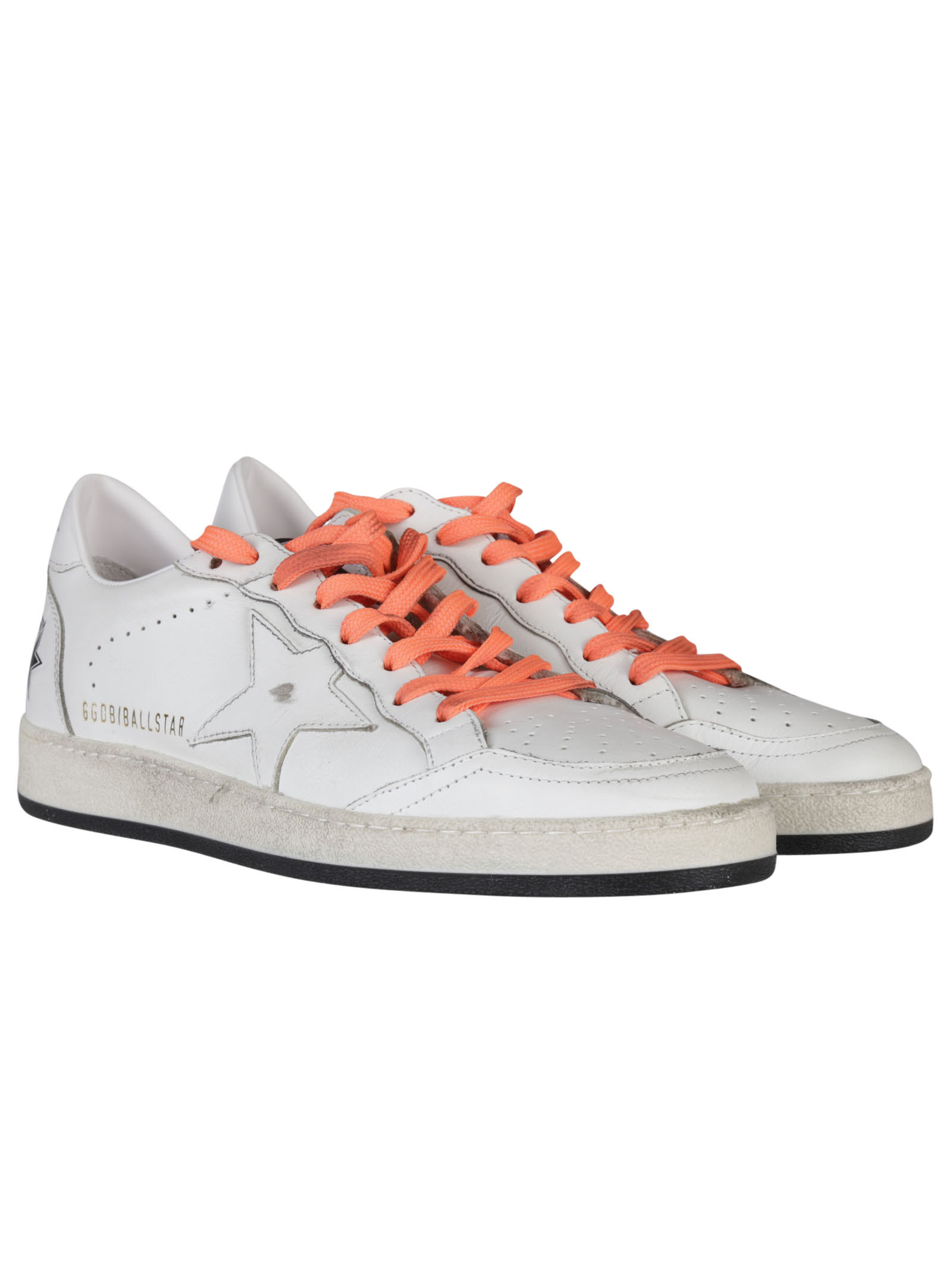 Golden Goose - Golden Goose Deluxe Brand Leather Ball Star Sneakers - G28MS592 C9, Men's ...