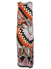 Emilio Pucci Sleeveless Printed Dress