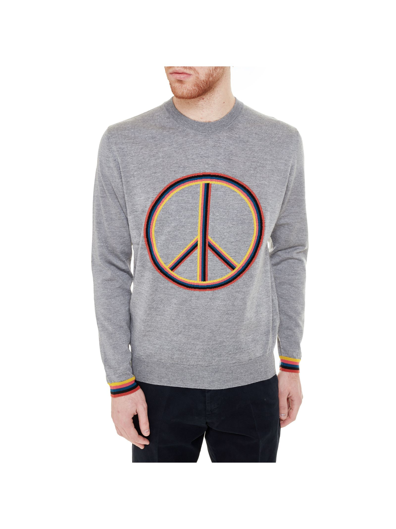 Paul Smith Peace Sign Sweater