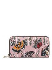 Furla Buttrfly Print Zip Around Wallet