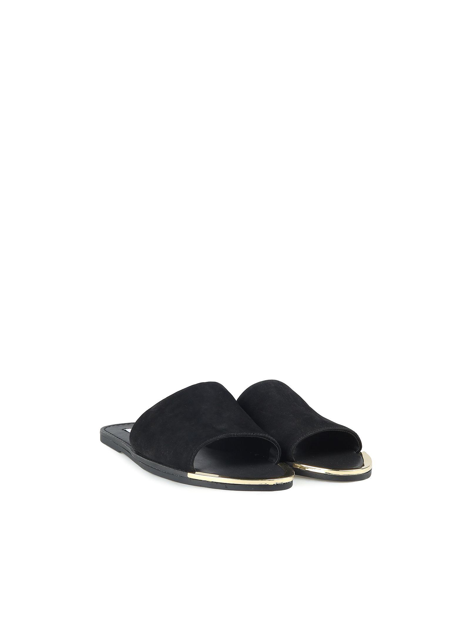 Steve Madden Kidd Suede Slide Sandals
