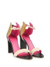 Oscar Tiye Malikah Leather Sandals