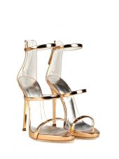 Giuseppe Zanotti Harmony Mirrored-leather Sandals