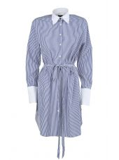 Rag & Bone Essex Cotton And Silk-blend Shirt Dress