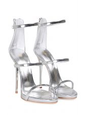 Giuseppe Zanotti Harmony Mirrored-leather Sandal