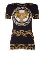 Versace La Coupe Des Dieux' Jersey T-shirt