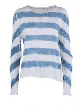 Rag & Bone Striped Cotton-jersey T-shirt