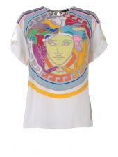 Versace Medusa Printed Silk-twill Pop