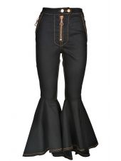 Ellery Hysteria Crop Flare High-rise Jeans
