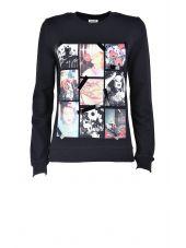 Kenzo Antonio Lopez Printed Cotton Sweatshirt
