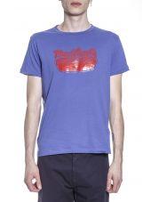 Marc Jacobs Hot Dog Logo Cotton T-shirt