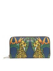 Furla Tiger Print Around Wallet