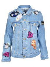 Kenzo Badge Denim Jacket