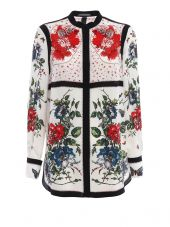 Alexander Mcqueen Flor Table Shirt